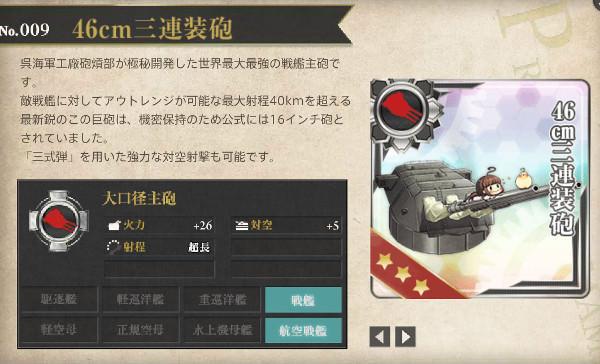 【艦これ】46cm三連装砲レシピ徹底解析