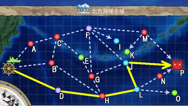 【艦これ】冬季北方海域作戦 3-4