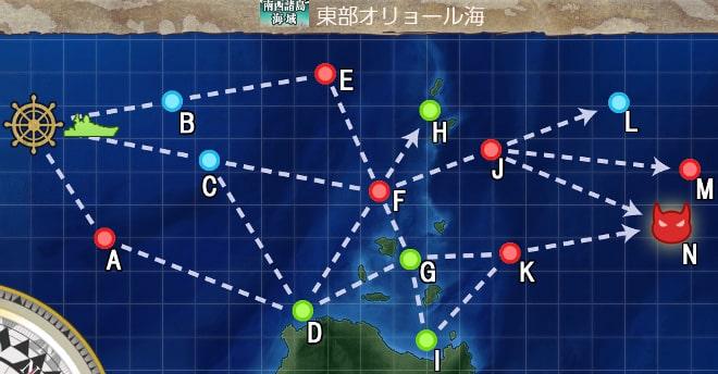 【艦これ】空母戦力の投入による兵站線戦闘哨戒 2-3
